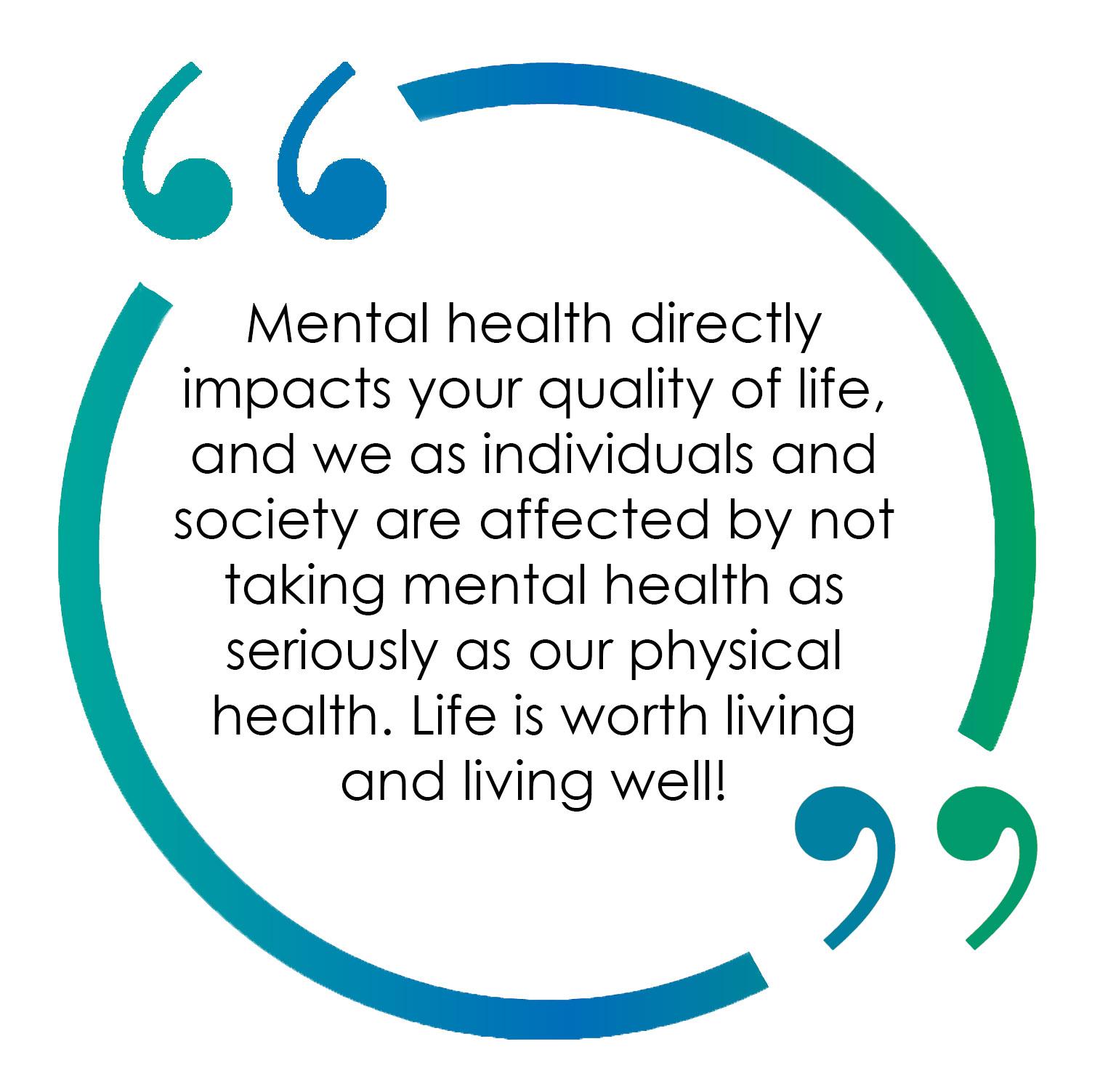 Lisa Moseley Mental Health Quote