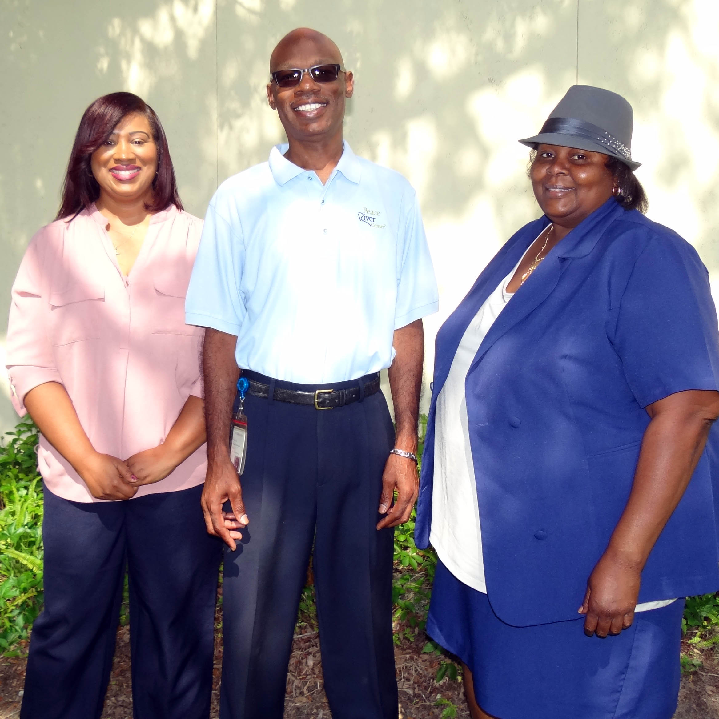 Supported Housing team: Kim Thomas, Cedric Cox, Angela Reid