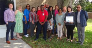 Well Care Award with PRC Outpatient Therapy Group
