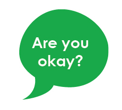 MHAM 2019 Let's Talk Mental Health Image - Are You Ok Bubble