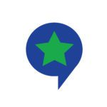Speech Bubble star icon