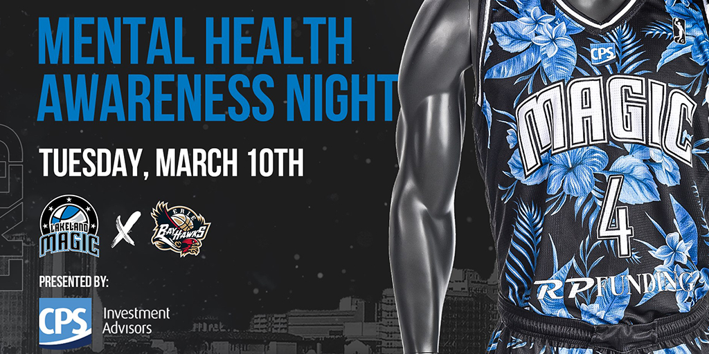 Mental Health Awareness Night March 10 Banner Image