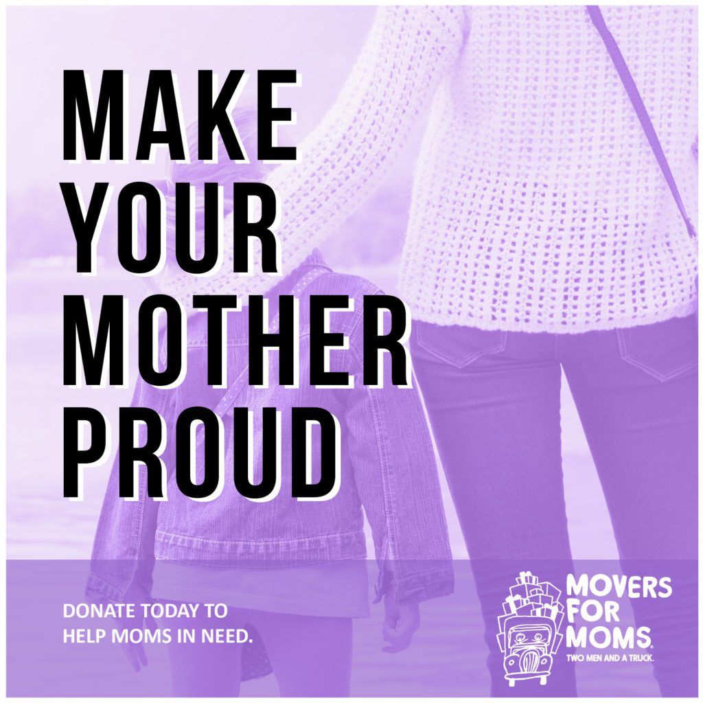 movers for mom graphic - make your mother proud