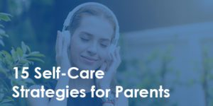 mom listening to music - 15 self-care strategies for parents