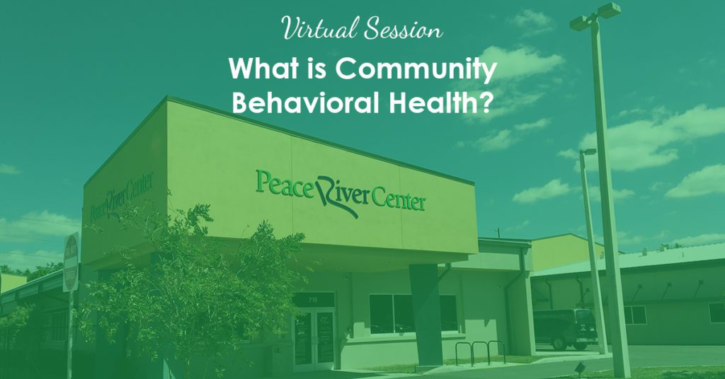 what is community behavioral health - peace river center lakeland crisis campus photo