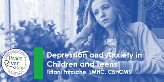 Virtual Session 2 intro slide depression and anxiety in children and teens