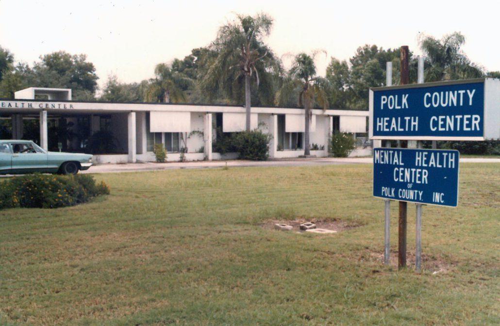 Polk County Mental Health Center Historic Photo