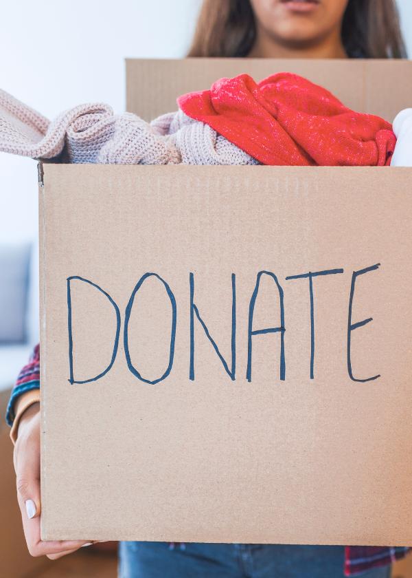thrift shop donate box