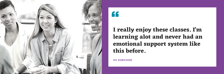 survivor dv class quote