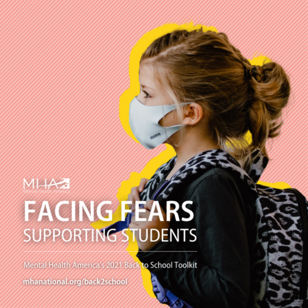student with mask Facing Fears Supporting Students